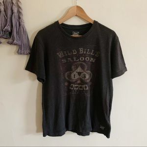 Lucky Brand • Texas Holdem cards graphic tee